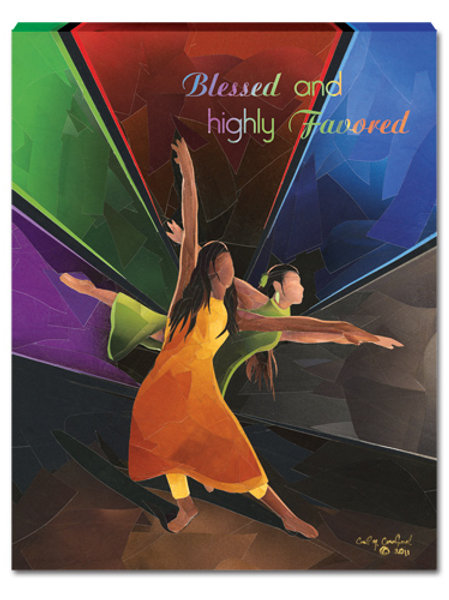 Blessed And Highly Favored - small