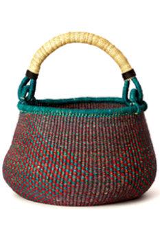 Red & Blue Kettle Basket