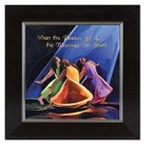 Praises Go Up   -  Framed Art