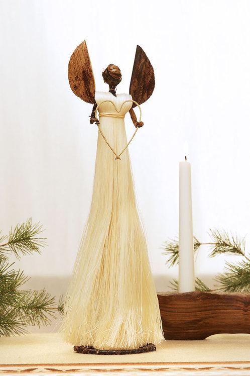 Fiber Angel of Love Holiday Sculptures
