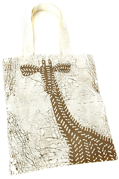Dry Season Giraffe Tote     Bag