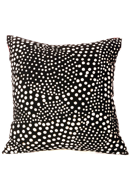Malian Polka Dot Decorative Pillow