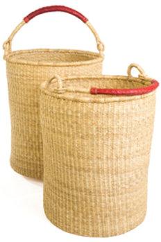 Natural Bolga Hamper Basket Set