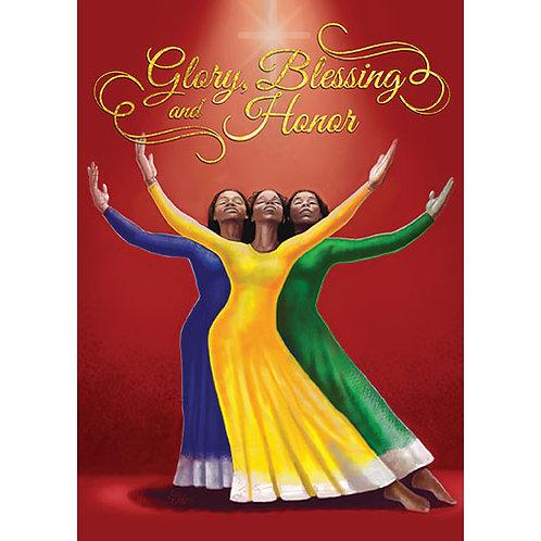 C- 909 Glory, Blessings & Honor
