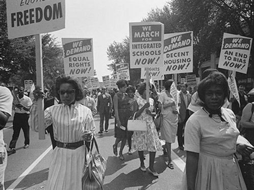 Civil Rights March, Washington DC. 1963