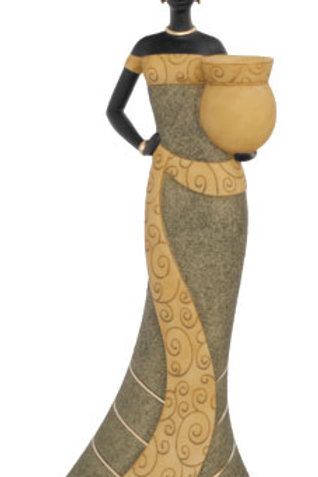 Taper CandleStick.. Woman 2 In Olive - 25701