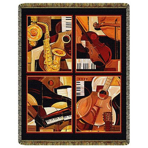 Four Quartets  Tapestry Throw