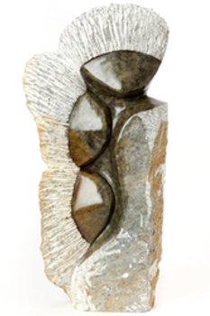 Three Windblown Sisters Sculpture