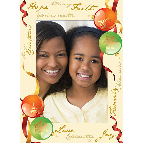C-878 Reason For the Season Picture Frame