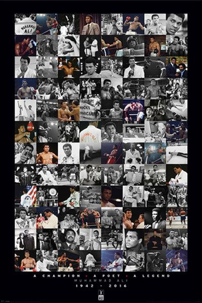 Muhammad Ali Montage Commemorative