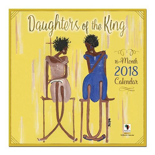 2018 DAUGHTERS OF THE KING CALENDAR
