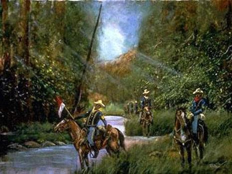 Buffalo Soldiers On Patrol