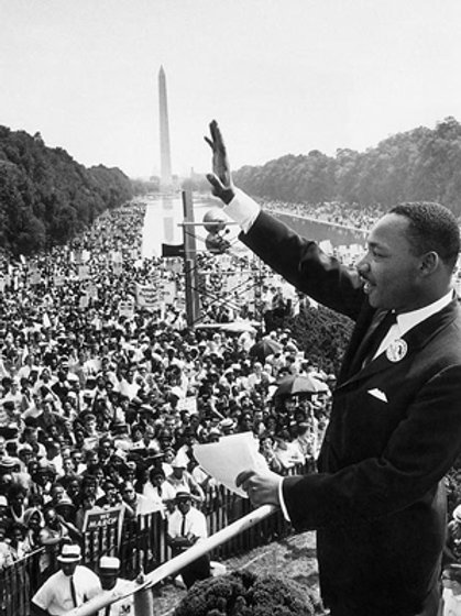 Martin Luther King Jr. March On Washington