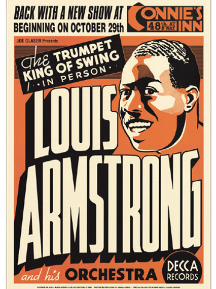 Louis Armstrong: Connie's Inn NYC, 1935