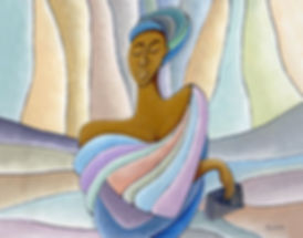 Artist Nathaniel Barnes  Sojourner Art Gallery