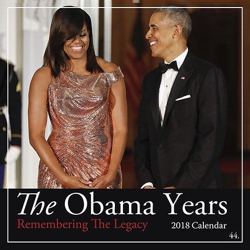 2018 The Obama Years  Calendar