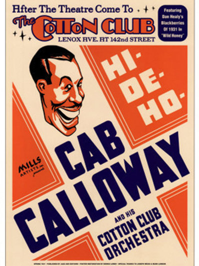 Cab Calloway The Cotton Club