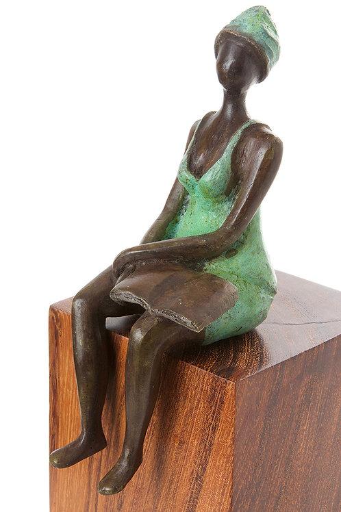 Seaside Scholar Sculpture