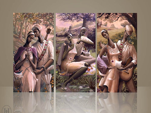 LOVE TRILOGY (triptych) Giclees