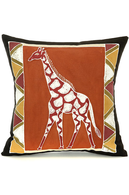 Bush Clay Giraffe Pillow Cover