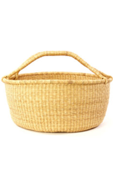 Oversize Natural Bolga Basket