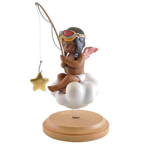 Catching A Blessing Girl - Figurine