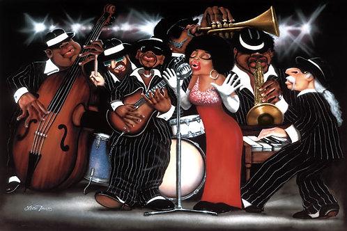 Lady Sings The Blues - 36   x   24