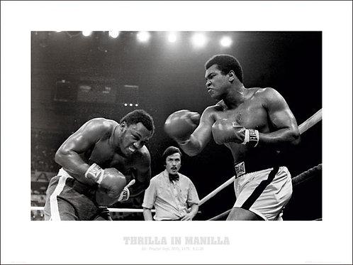 Muhammad Ali Vs Frazier Thrilla In Manilla