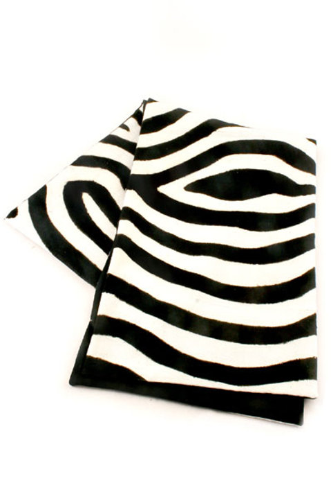 Malian Mudcloth Zebra Print