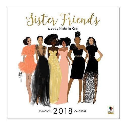 2018 SISTER FRIENDS WALL CALENDAR