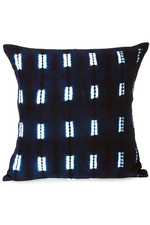 Malian Indigo pillow Cover