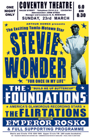 Stevie Wonder, Coventry, England 1960