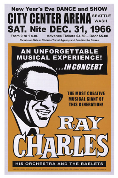 Ray Charles: Seattle New Years Eve, 1966