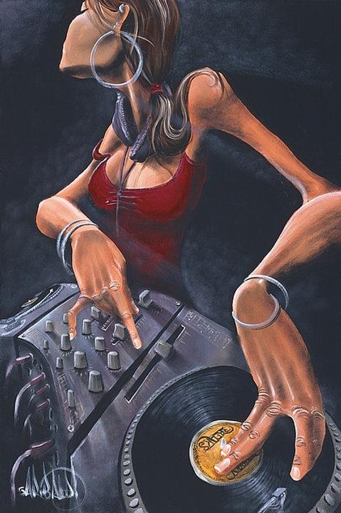 DJ  Jewel   -  24    x   36