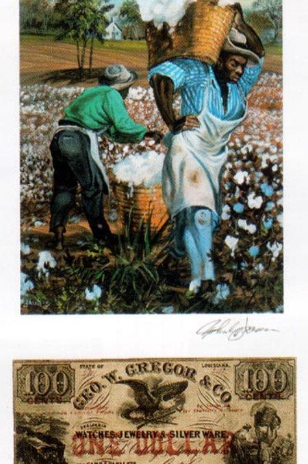 Slaves Carrying Cotton :  Louisiana