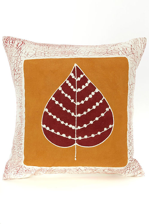 Luangwa Leaf Sunset Pillow Cover