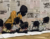 Hand Embellished Giclee Sojourner Art Gallery