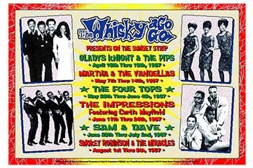 Motown Revue, 1967 Whiskey A Go Go Los Angeles