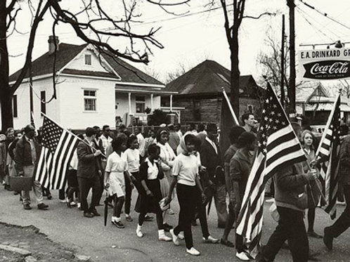 Selma To Montgomery Civil Rights March