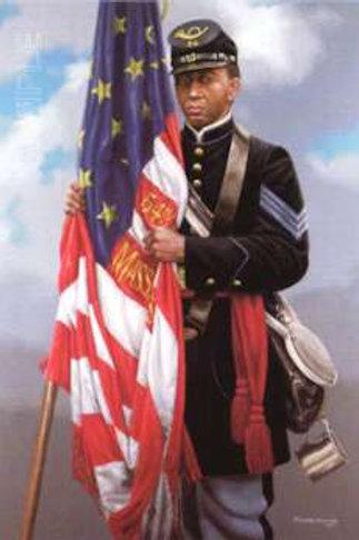 Sgt. Carney's Flag