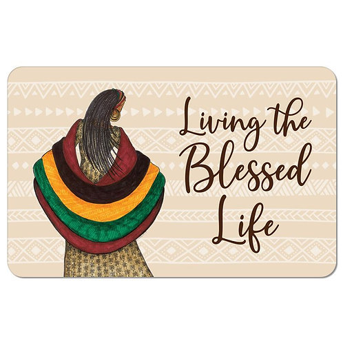 SM11 Blessed Life Floor Mat