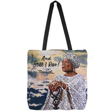 And Still I Rise Maya Woven Tote Bag