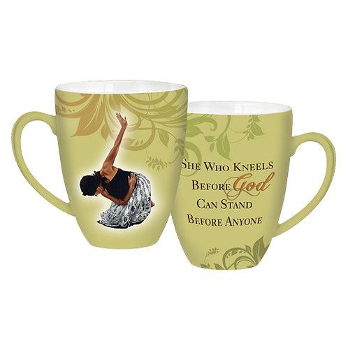 She Who Kneels -  Coffee Mug