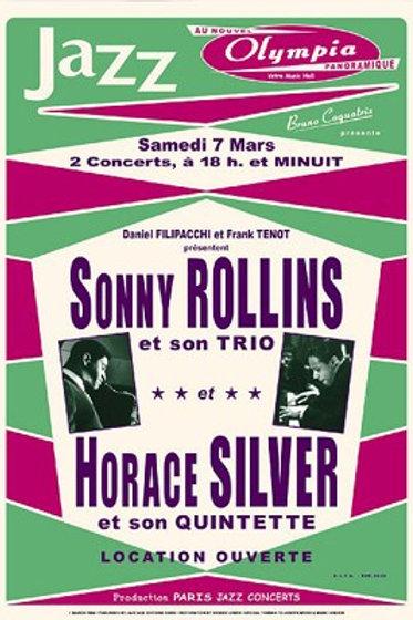 Sonny Rollins and Horace Silvers Paris, 1964