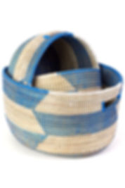 Senegal Hand Woven Baskets   Sojourner Art Gallery