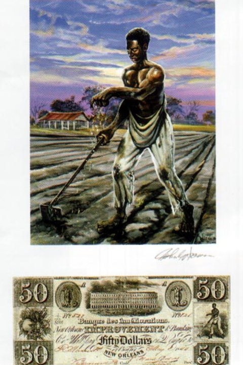 Slave Sowing Seed : Louisiana