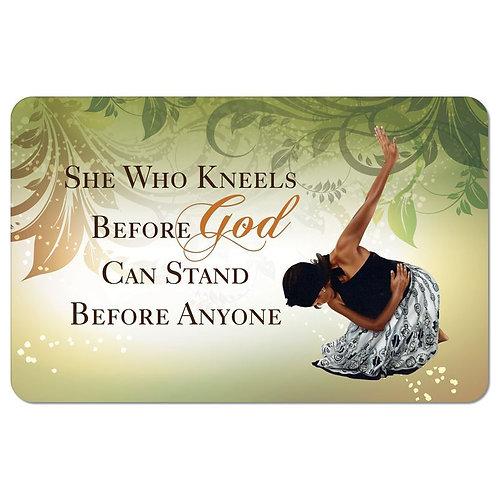 She Who Kneels