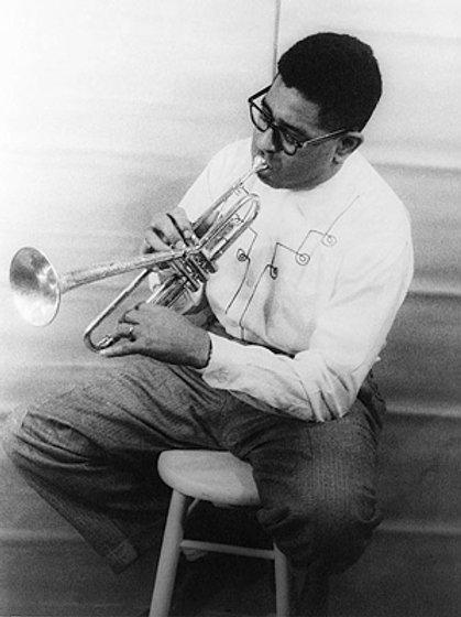 Dizzy Gillespie Portrait 1955