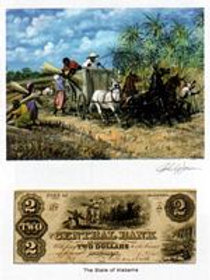 Slave Loading Sugar Cane :  Alabama
