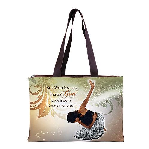 She Who Kneels  - Hand Bag
